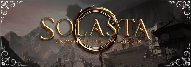 Solasta: Crown of the Magister - Logo